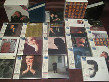 GLENN GOULD BACH VARIATIONS LIMITED JAPAN REPLICA OBI BOX SETS WITH 20 TITLES
