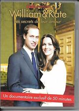 DVD ZONE 2--DOCUMENTAIRE--WILLIAM & KATE LES SECRETS DE LEUR AMOUR