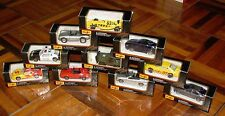 MAISTO 1:64 Special Edition 10 Vehicle Lot MISB NEW