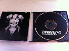 HAMMERDOWN CD Heavy Metal promo Demo DRINK UP The Wolf ENSLAVED FREEDOM Hey You