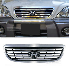 Chrome Hood Radiator Grill For HYUNDAI 2001 2002 2003 2004 2005 2006 Terracan