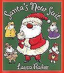 Santa's New Suit by Laura Rader (2000, Hardcover) Like New Condition