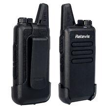 2pcs Retevis RT22 Walkie-Talkies Zwei-Wege-Funkgerät 2W UHF 400-480MHz 16CH VOX