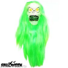 Halloween de adulto el pelo Super Brillan En La Oscuridad Ghoul Máscara