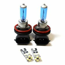 FIAT FREEMONT 100W SUPER WHITE XENON HID basso DIP / CANBUS LED Side Light Bulbs Set