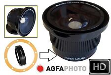 Super Wide HD Fisheye Lens for Canon Powershot SX30 IS