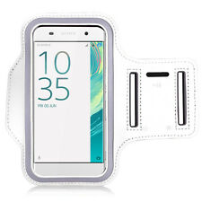 COVER CASE WALLET SPORT ARMBAND WHITE SERI SONY XPERIA