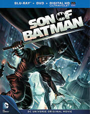 NEW TORN WRAP SON OF BATMAN BLU RAY DVD UV EXPIRED 5/16 FREE FAST 1ST CLS S&H