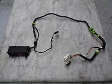 OEM 88-94 BMW 750iL/740iL Rear RH Adjustable Seat Wiring Harness&Control Switch