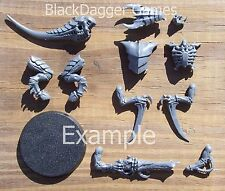 40K Tyranids  Tyranid Warrior w/ Deathspitter Single Figure Bits