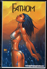FATHOM #1 WIZARD WORLD PHILLY COLOR VARIANT MICHAEL TURNER COVER lim 250 NM +COA