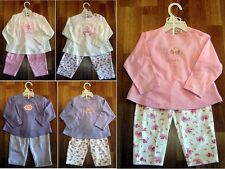 NEW 40 Asstd UK Early Days 2-Pc Princess & Fairy Cotton PJ & Playset 6-18mos