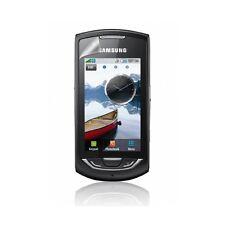 coque étui violet tête de mort pour Samsung Player Star 2 S5620 + film