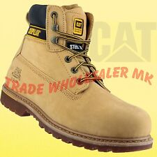 Caterpillar S3 Holton Steel Toe Cap & Midsole Safety Boots Upgrade your Holtons!