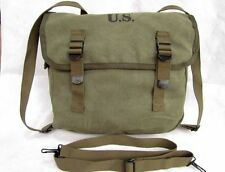 WWII WW2 Military US Army M1936 M36 Type Musette Canvas Bag Backpack