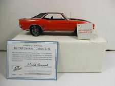 FRANKLIN MINT 1/24 SCALE ORANGE 1969 CHEVROLET CAMARO Z28