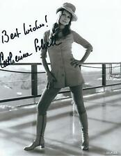 CATHERINE SCHELL SIGNED 007 JAMES BOND 10x8 PHOTO - UACC & AFTAL RD AUTOGRAPH