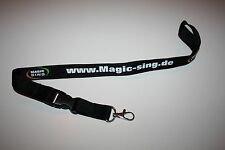 Magic SING NASTRO Chiavi Lanyard Nuovo