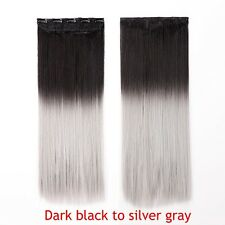 Real Thick,24-26 Inch,3/4 Full Head Clip In Hair Extensions,Brown Blonde B810