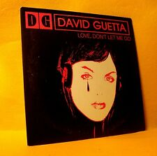 Cardsleeve single CD David Guetta Love, Don't Let Me Go 2TR 2002 House