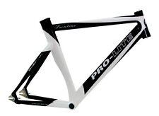 Pro-Lite Trentino Bahnrad Zeitfahr Rahmen schwarz-weiss 56cm