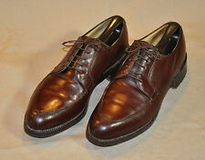 NETTLETON Algonquin Brown Leather Split Toe Dress Oxfords - Size 11C