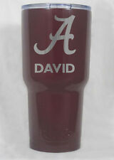 YETI Rambler 30 oz powder coated engraved  Alabama Roll Tide Custom personalize