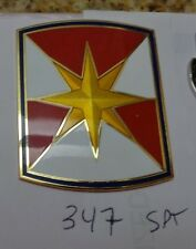 COMBAT SERVICE ID.BADGE-, 347TH SUPPORT BRIGADE