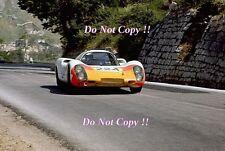 Vic Elford PORSCHE 907 vincitore Targa Florio 1968 Fotografia