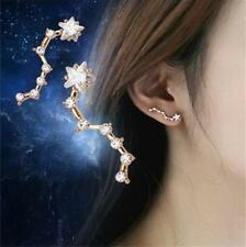 Free P&P Stunning Crystal Star Big Dipper Lady Ear Studs Earrings Party 1 Pair