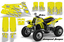 AMR Racing Yamaha Banshee 350 Decal Graphic Kit ATV Quad Wrap  87-05 DFLAME SLVR