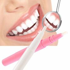 Tooth Whitening Whitener Cleaning Pen Tools Gel Pen Pink Plastic Case Teeth Hot