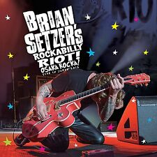 BRIAN SETZER of STRAY CATS New Sealed 2016 LIVE IN JAPAN BLU RAY & CD SET