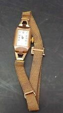 ladies 9ct gold watch Art deco case
