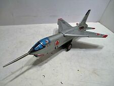 RCAF F-8C CRUSADER FIGHTER JET WITH SPARKING ENGINE GOOD CONDITION FRICTION