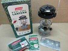 NEW IN BOX Coleman Two Mantle Dual Fuel Lantern 285-700 FREE SHIPPING!!