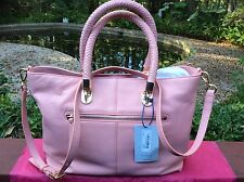 $330 NWT COLE HAAN BENSON PEONY SMALL CROSSBODY LEATHER TOTE SHOULDER BAG