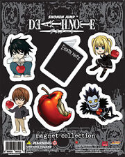Death Note SD Art Collection Magnet Set Anime Manga NEW