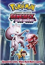 Pokemon the Movie: Genesect and the Legend Awakened (DVD, 2013)