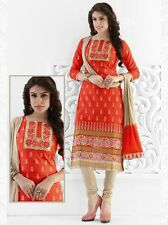 Radiant Cotton Embroidered Salwar Suit Dress Material D.NO NKT1152