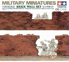 BRICK WALL SET TAMIYA 1/35 PLASTIC KIT