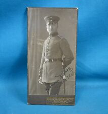 WW1 Era Cabinet Photo German Army Deutsches Heer Soldier Hammerschlag Dortmund