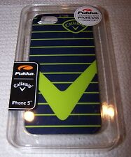 Pukka CALLAWAY Nassau Hard Case for iPhone 5/5S NAVY/LIME GREEN ~ NIB