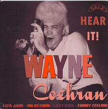 ROCKABILLY REPRO: WAYNE COCHRAN EP - Last Kiss/No Return/Funny Feeling/Liza Jane