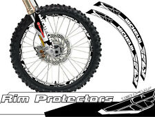 18 & 21 INCH DIRT BIKE RIM PROTECTORS WHEEL DECALS TAPE GRAPHICS MOTORCYCLE