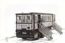 FOTO/REPRO ZEIGT U-BAHNWAGEN VON 1924 (AGF510)