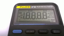 Fluke 87 III Display Repair Kit for Faded LCD How To Instructions