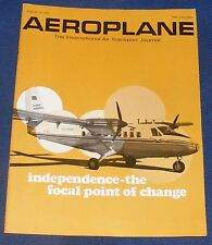 AEROPLANE AUGUST 21 1968 - INDEPENDENCE - THE FOCAL POINT OF CHANGE