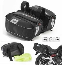 BORSE MOTO LATERALI ESPANDIBILE GIVI XS314 XSTREAM 25LT SIDE BAGS UNIVERSALI