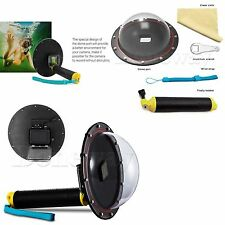 Underwater Housing Diving Lens Dome Port for GoPro Hero 5 Black Action Camera